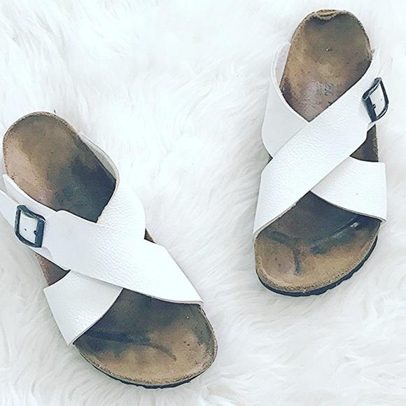 df514284ff9727 Birkenstock Shoes - Betula white Birkenstocks